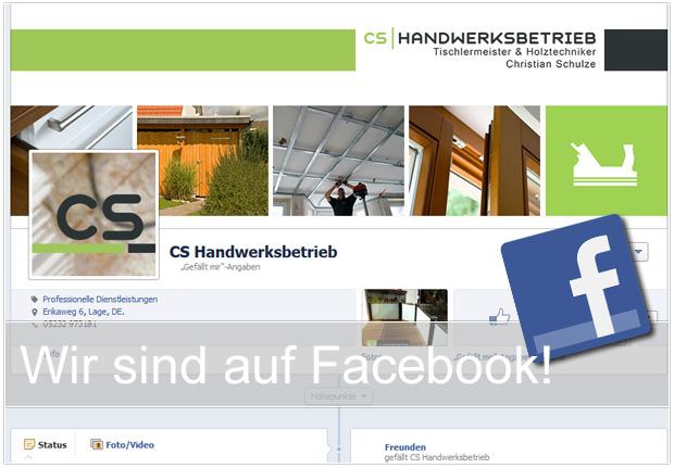 Wir sind auf Facebook!